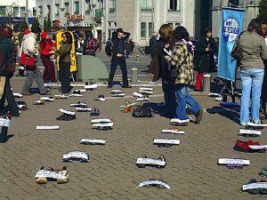 Protest gegen Frauenmorde - Carol Crisosto Flickr.com CC BY-SA 2.0