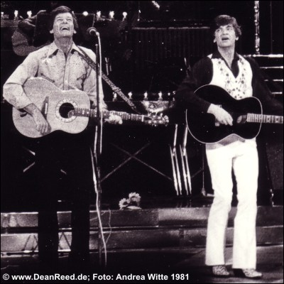 Dean Reed & Phil Everly 1981